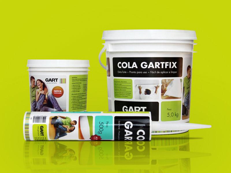 Design de embalagens Gartfix