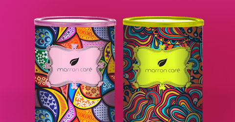 Kits Marron Café
