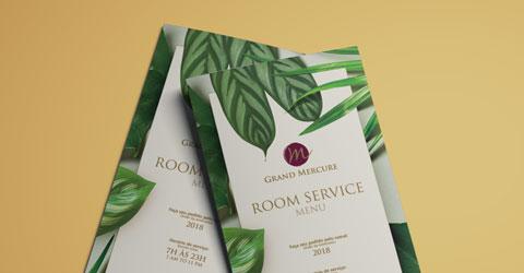 Cardápio Room Service